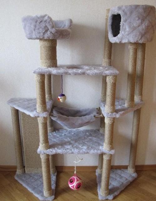 дом для кота и лазелки