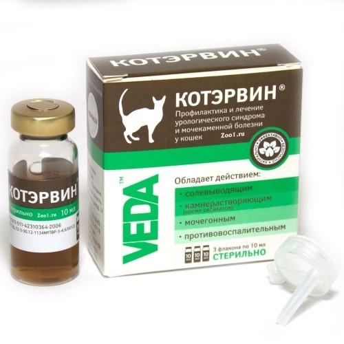 Инструкция по применению препарата КотЭрвин