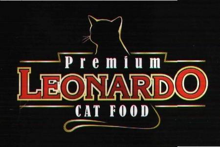 Логотип корма Леонардо для котов