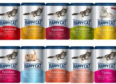 Паучи Happy Cat