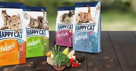 Корм для кошек Хеппи Кэт