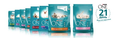 Корм Purina One для кошек