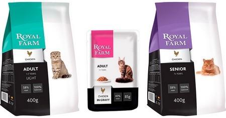 Корм для кошек Роял Фарм